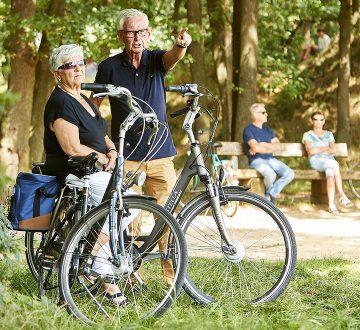 Radfahren in und rund um Kessel